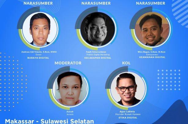 Literasi Digital Sulawesi 2021,  Yuk...Belajar Berjualan Daring