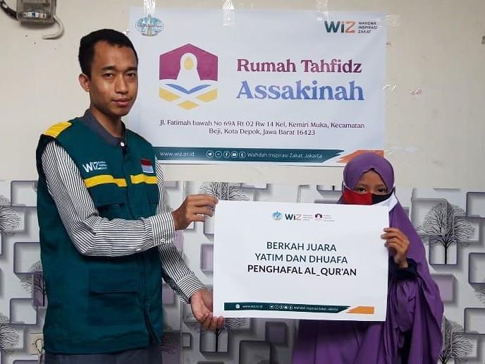 Begini Kondisi Tahfidz Holiday As Sakinah yang disupport WIZ Jakarta