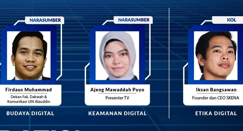 Literasi Digital Sulawesi 2021,  Dakwah yang Ramah dan Etis di Media Sosial