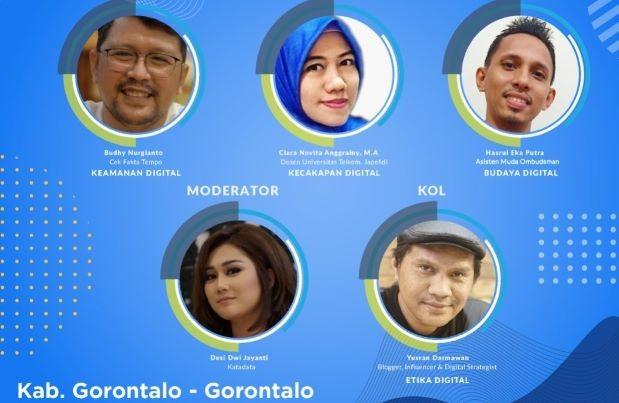 Literasi Digital Sulawesi 2021, Tingkatkan Keamanan Akun agar Tenang Berinternet