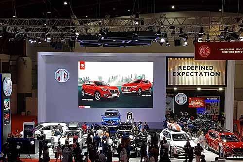 IIMS Hybrid 2021, MG Nobatkan Andalan Chrisdeco sebagai The Best Dealer Partner