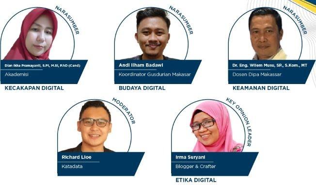 Literasi Digital Sulawesi 2021, Ramah Berdakwah Berlimpah Faedah